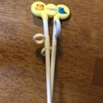 子どもの箸の持ち方の練習について