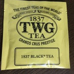 TWGの紅茶を初めて飲みました