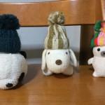 5歳児さんでも簡単に作れます!ぬいぐるみ用毛糸の帽子の作り方